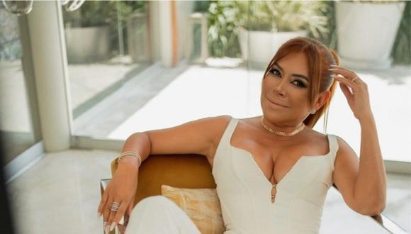Magaly Medina anunció que se separó de Alfredo Zambrano en la noche del martes 30 de marzo. (Foto: @magalymedinav)