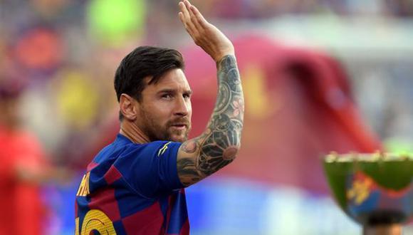 Lionel Messi no seguirá en Barcelona tras no llegar a un acuerdo para la renovación. (Foto: AFP)