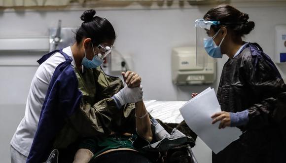 Coronavirus en Argentina | Últimas noticias | Último minuto: reporte de infectados y muertos hoy, jueves 06 de mayo del 2021 | Covid-19 | (Foto: EFE/Juan Ignacio Roncoroni).