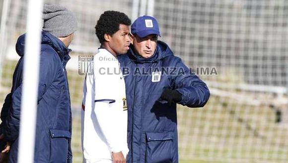 """Sanguinetti sobre Alianza: """"Tenemos el compromiso de campeonar"""""""