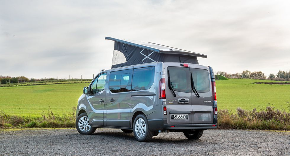 La Renault Trafic fue modificada por Sussex Campervans. (Foto: Sussex Campervans)