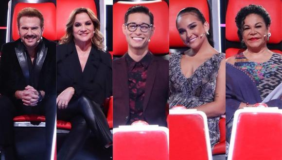 """""""La Voz Senior"""": Ellos serán el jurado del nuevo formato de Latina. (Foto: @rayoenlabotella)"""