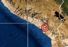 Moquegua: sismo de magnitud 4.1 se reportó en Mariscal Nieto, señala IGP