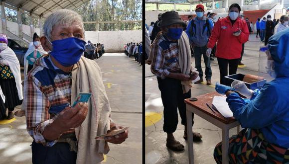 Huánuco: anciano de 120 años y el más longevo del Perú recibió su Bono Familiar Universal