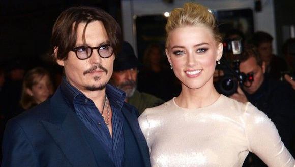 Johnny Depp y su exesposa Amber Herd. (Foto: AFP)