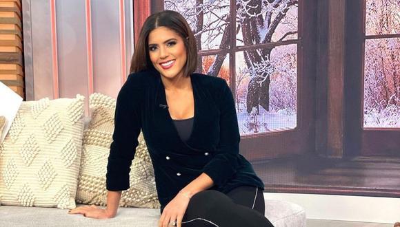 Francisca Lachapel se mostró muy emocionada al dar la noticia sobre su embarazo. (Foto: Instagram / @franciscalachapel).