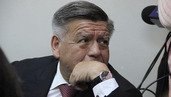 El ex gobernador regional de La Libertad y ex candidato presidencial, César Acuña, afronta también un proceso por la presunta entrega de subvenciones en campaña. (Archivo El Comercio / Johnny Aurazo)