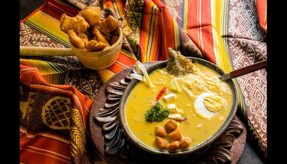 La fanesca es una  sopa de bacalao muy consumida durante la Semana Santa.   Foto: Shutterstock