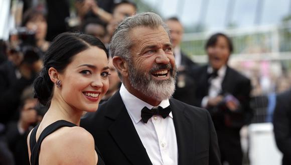 Mel Gibson será padre por novena vez a los 60 años