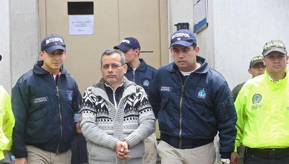 Orellana fue capturado en noviembre del 2014 en la ciudada de Cali (Colombia) por agentes peruanos y colombianos. Se escondió en ese país para eludir su orden de prisión.