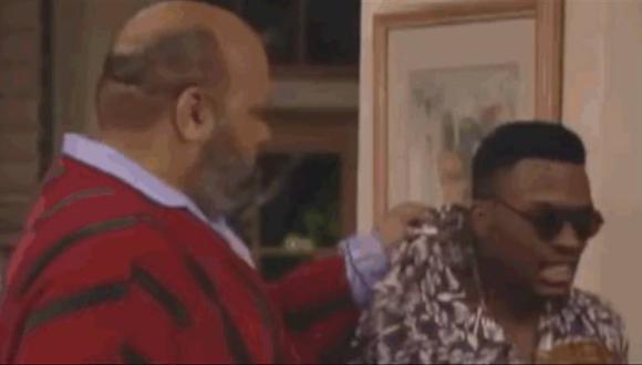 ¿Por qué Jazz siempre usaba la misma camisa cuando era arrojado por el tío Phil? (Foto: NBC)