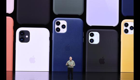iPhone 11. Apple presenta su nueva generación de celulares. (AFP)
