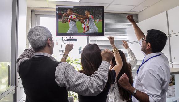 venta de televisores se elevará con posible triunfo de la selección peruana.