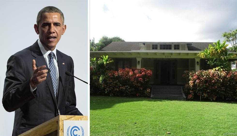 De 1964 a 1967, el ex presidente Barack Obama residió en esta casa ubicada en el barrio Manoa de Honolulu. (Foto: Realtor)