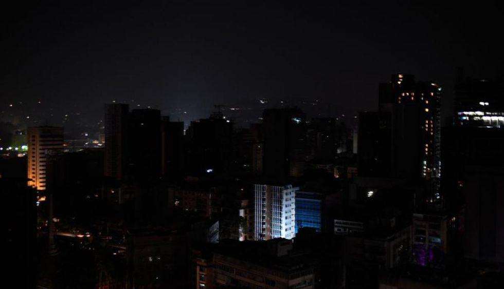 Desde marzo se han venido reportando apagones en Venezuela.