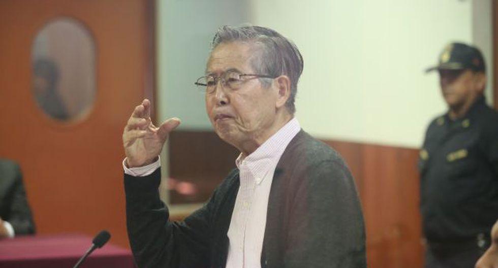 Juez deja al voto reposición de línea telefónica a Fujimori