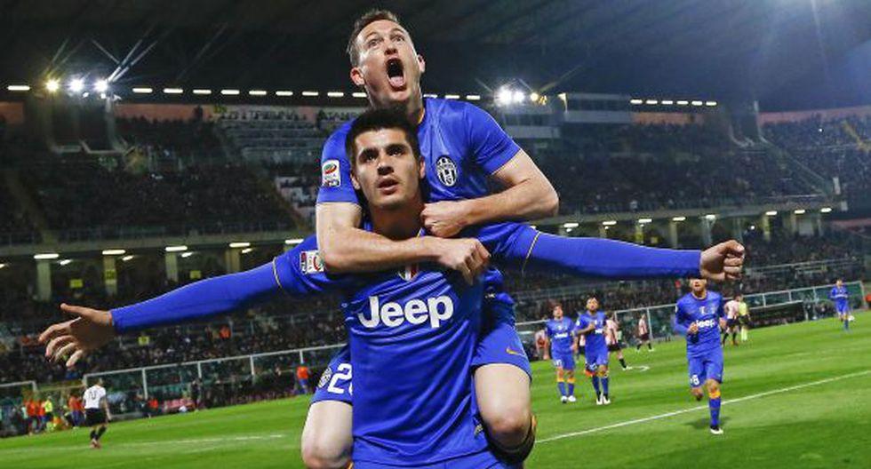 Juventus ganó 1-0 a Palermo y se acerca al título de la Serie A