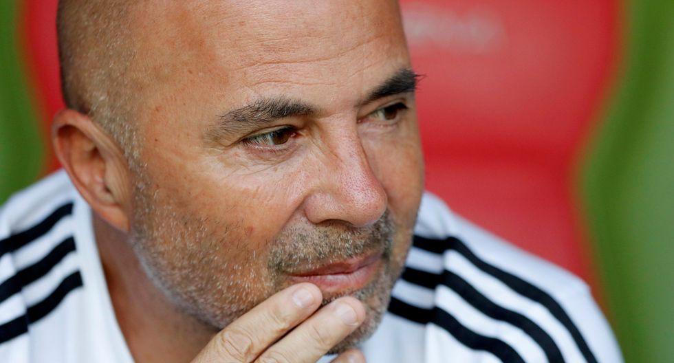Jorge Sampaoli podría convertirse en técnico de Paraguay. (Foto: AFP)
