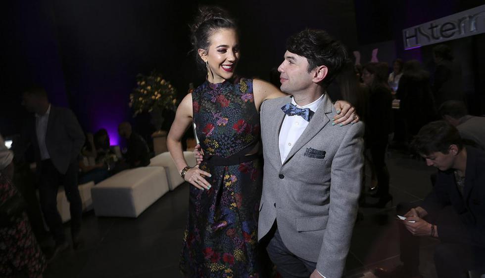 Bruno Pinasco optó por los tonos neutros, el toque de personalidad se lo da esta corbata michi. (Foto: Archivo El Comercio)