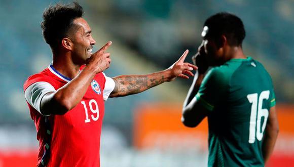 Chile venció 2-1 a Bolivia en Rancagua. El dt Martín Lasarte debutó con triunfo en un camino largo hacia las Eliminatorias Qatar 2022. (Foto: EFE)