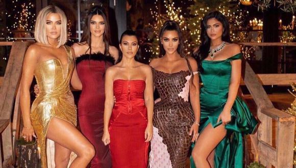Como todos los años, la familia más conocida del espectáculo celebró a lo grande Navidad. (Foto: Instagram/@kimkardashian)