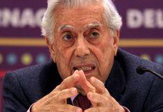 """Mario Vargas Llosa: """"Estados Unidos muestra un desinterés casi absoluto en América Latina"""""""