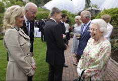 Isabel II recibió a los líderes del G7 antes de una cena de gala en el Reino Unido | FOTOS