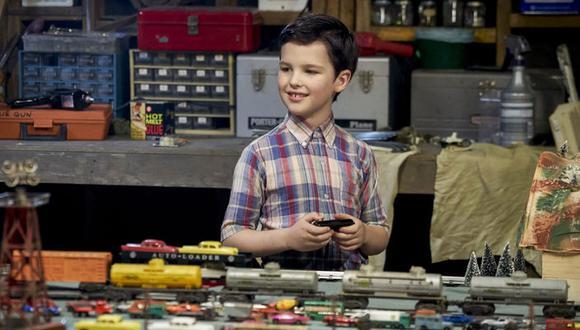 """El pequeño Sheldon Cooper tiene nueve años en el spin off de """"The Big Bang Theory"""" (Foto: CBS)"""