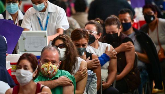 La Ciudad de México entra a Semáforo epidemiológico naranja a partir de este lunes 26 de julio. (Foto: AFP)
