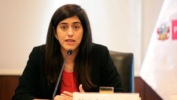 María Antonieta Alva, ministra de Economía y Finanzas, podría ser interpelada por el Congreso para que responda por medidas del gobierno ante crisis económica (Foto: GEC)