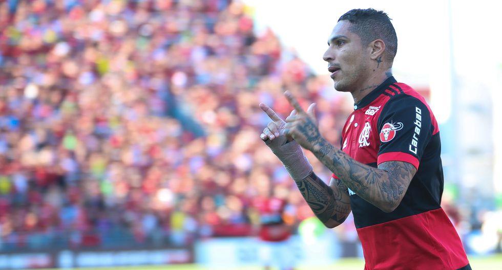"""Paolo Guerrero alejó rumores de estar """"cuidándose"""" en el Flamengo. (Foto: Flamengo)"""