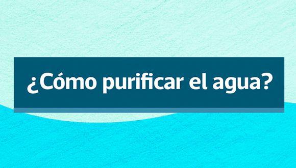 Recomendaciones del Ministerio de Salud para purificar el agua