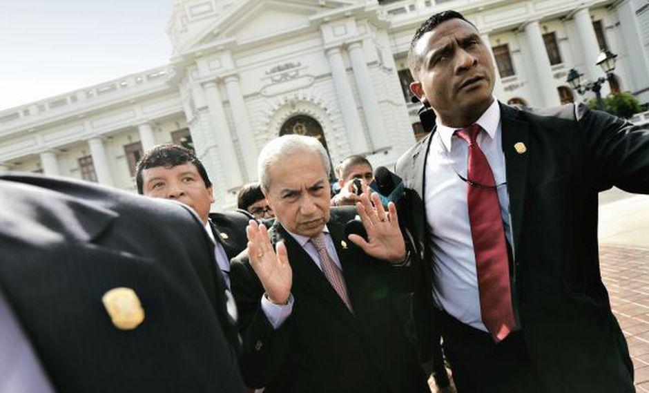 En el Congreso se definirá la situación de Chávarry. Este lunes empieza el debate de las seis denuncias que se presentaron en su contra. (Foto: Anthony Niño de Guzmán)