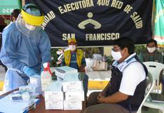 Vraem: entregan pruebas rápidas para descarte de COVID-19 y camas clínicas