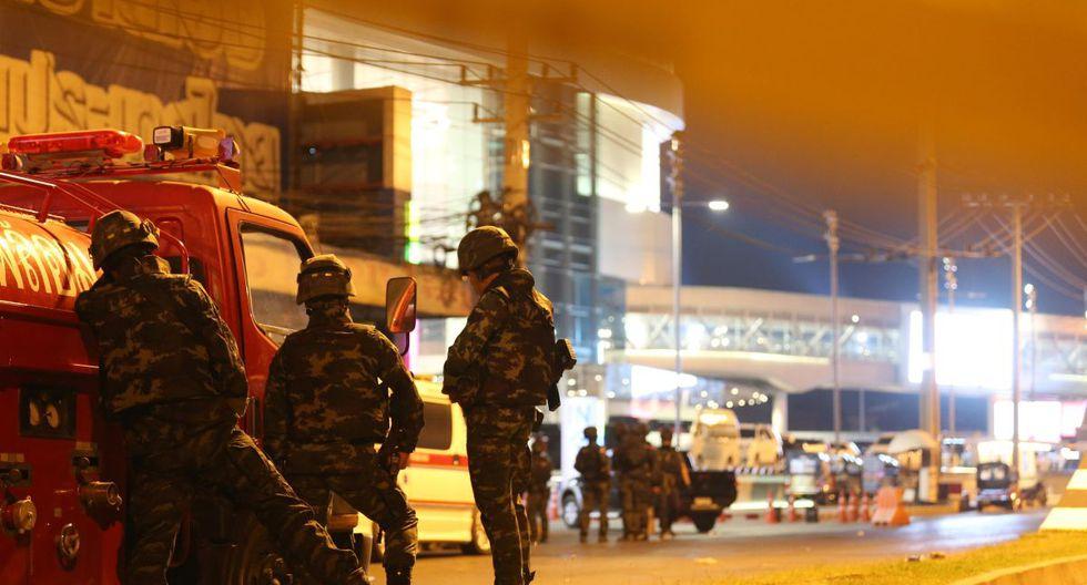 Según medios locales mantenía a más de una decena de personas como rehenes, que habrían sido liberados. (EFE)