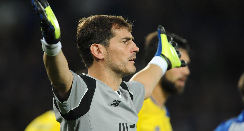 Iker Casillas es arquero del Porto de Portugal | Foto: AP