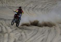 Dakar 2018: la competencia en motos y autos en el segundo día