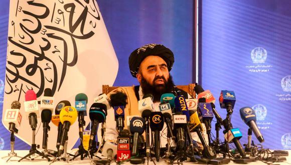 La petición está contenida en una carta remitida a la Secretaría General de la organización por el ministro de Exteriores talibán, Amir Khan Muttaqi. (Foto: EFE)