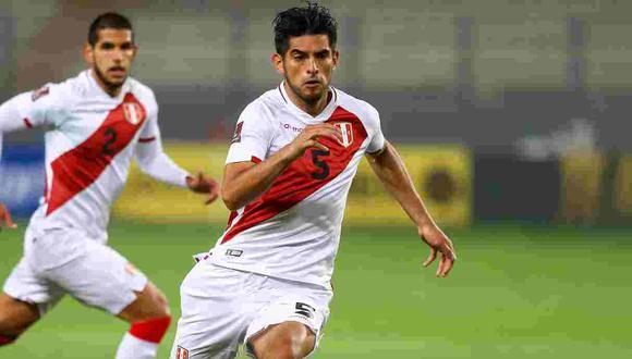 El mensaje de Carlos Zambrano en la previa del Perú vs. Argentina. (Foto: GEC)