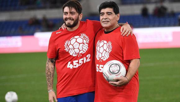 Diego Jr. viaja a Argentina para iniciar los trámites de su herencia. (Foto: Agencias)