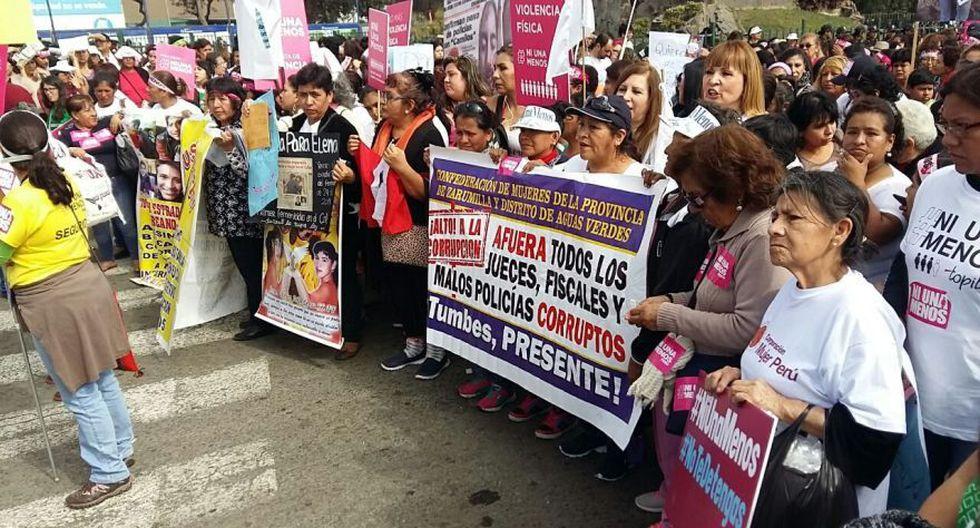 #NiUnaMenos: así se desarrolló la marcha en Lima [FOTOS] - 24