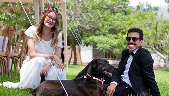 Sachmo fue el invitado de honor en el matrimonio de Sabrina Biegerl y Carlos Zegarra. (Fotos: Cortesía)