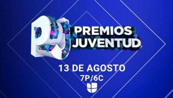 El evento virtual de los Premios Juventud 2020 se llevará a cabo este jueves 13 de agosto de manera virtual y sin público. | Crédito: Premios Juventud / Facebook.