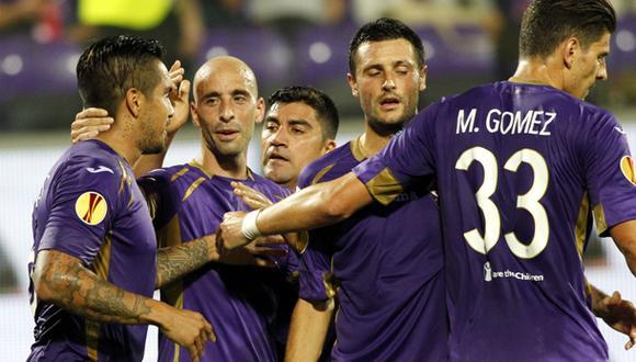 ¿Por qué Juan Vargas no está jugando en la Fiorentina?