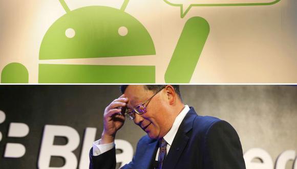 Android se afianza en el primer lugar y Blackberry OS se hunde