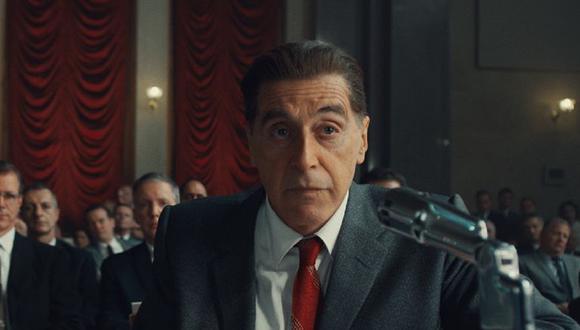 The Irishman: ¿por qué Jimmy Hoffa tiene una fijación con el helado en la película de Martin Scorsese? (Foto: Netflix)
