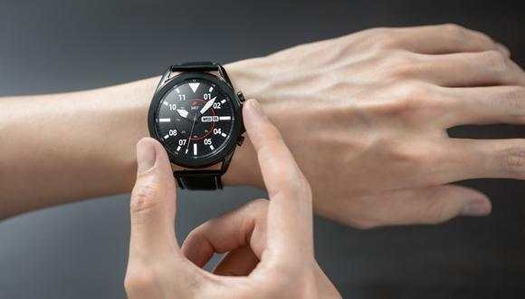 El Galaxy Watch 3 fue presentado hoy a través de una presentación virtual hecha a nivel global. (Foto: Samsung)