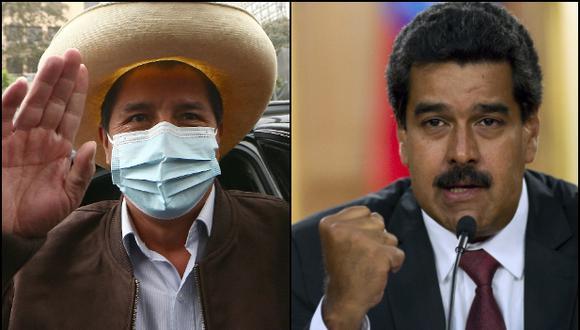 Guido Bellido indicó que en la reunión entre Pedro Castillo y Nicolás Maduro se abordó una solución a la crisis migratoria venezolana. (Foto: archivo  Alessandro Currarino/ GEC - archivo Raúl Arboleda/ AFP)