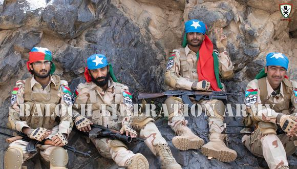 Pakistán | Baluchistán: Hombres armados atacan el hotel de lujo Pearl Continental en Gwadar. (Foto: Ejército de Liberación Baluchi).