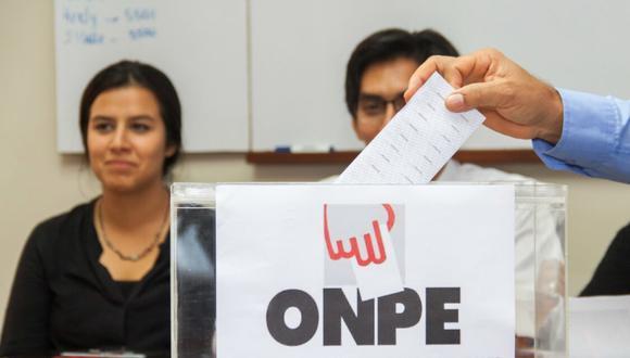 Las elecciones generales están convocadas para el 11 de abril del 2021. (Foto: Andina)